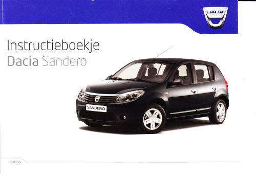 instructieboekje Dacia Sandero